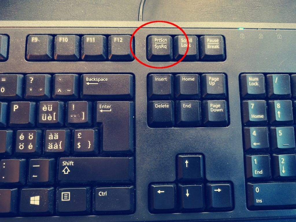 Magic System Request key on keyboard