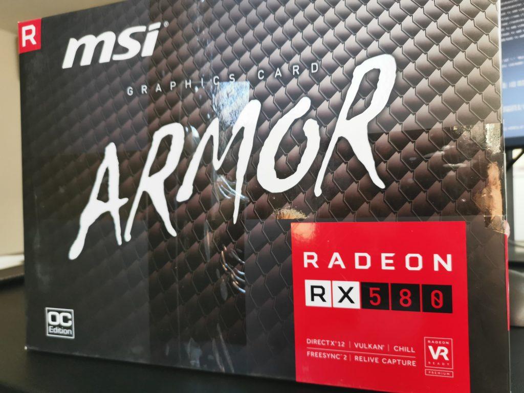 MSI Radeon RX580 OC