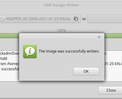 USB Disk Writer