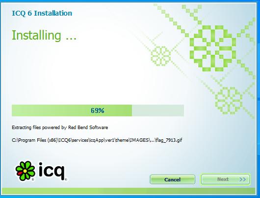 ICQ installing