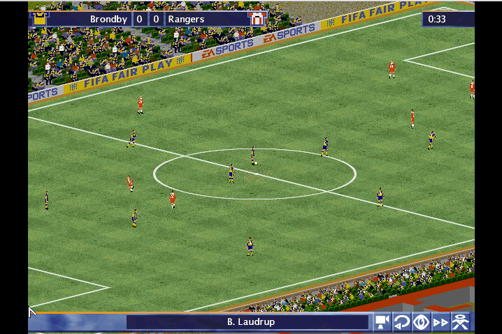 Live game in Fifa Soccer Manager