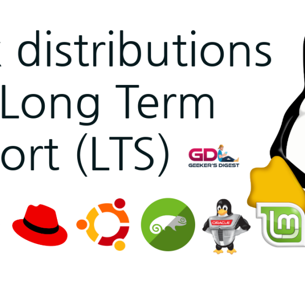 Linux distributions with Long Term Support LTS