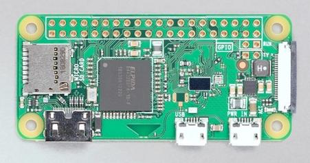 Raspberry Pi Zero W. Image courtesy Raspberry Pi Foundation.